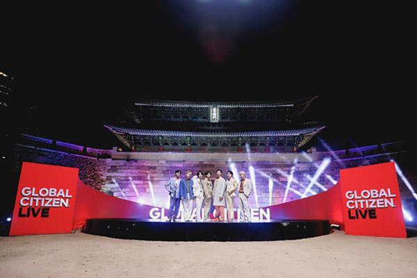 BTS tham gia chuỗi hòa nhạc toàn cầu cùng các nghệ sĩ nổi tiếng thế giới