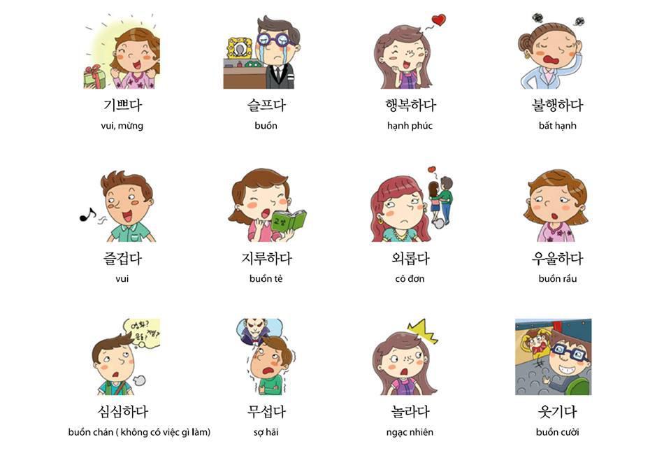 Học từ vựng tiếng Hàn theo chủ đề đúng cách