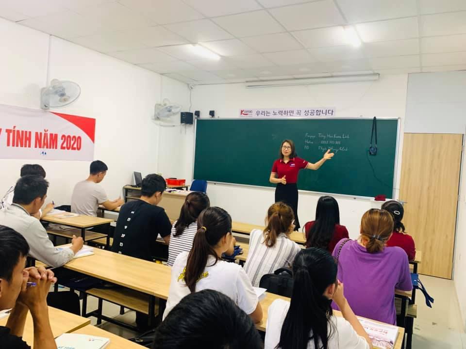 Lớp tiếng Hàn dành cho người mới bắt đầu tại Korea Link