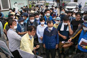 Khắc phục tình trạng lũ lụt tại tỉnh Gangwon-do