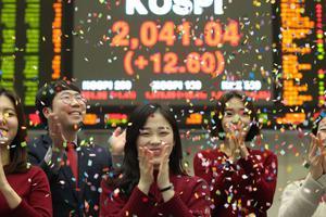 Giới trẻ Hàn Quốc chơi chứng khoán để nhanh giàu