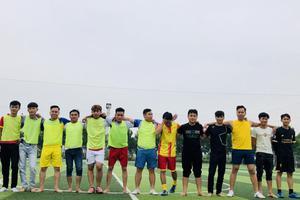 Giao hữu bóng đá tại Hoàng Mai của học viên Korea Link