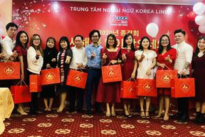 LỄ TỔNG KẾT NĂM 2020 VÀ CHÀO MỪNG NĂM MỚI 2021 CỦA TRUNG TÂM NGOẠI NGỮ KOREA LINK