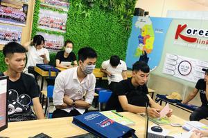 Khai giảng khóa học tiếng Hàn dành cho người mới khóa KV15.20