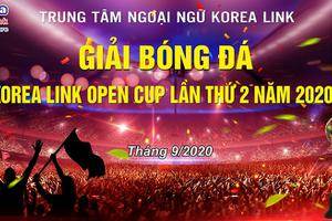 Giải bóng đá Korealink open cup lần thứ 2 năm 2020.
