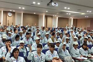 Thông báo tổ chức xuất cảnh đối với 20 người lao động đi làm việc tại Hàn Quốc
