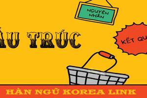 Ngữ pháp 15: Cấu trúc chỉ nguyên nhân kết quả tiêu biểu trong tiếng Hàn