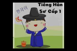 Tiếng Hàn sơ cấp 1