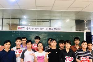 Khai giảng lớp luyện thi tiếng Hàn XKLĐ dành cho lao động mới và lao động tái cử
