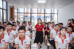Tràn đầy khí thế trước vòng Thi thử EPS tại KOREA LINK | Trao thưởng và tặng quà học viên