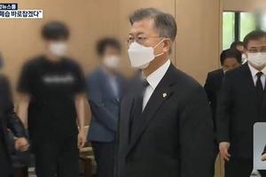 Tổng thống Moon Jae-in gửi lời xin lỗi về vụ quấy rối tình dục nữ trung sĩ Không quân
