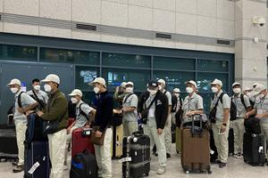 Lao động EPS nhập cảnh Hàn Quốc hoàn thành cách ly phòng chống dịch Covid-19