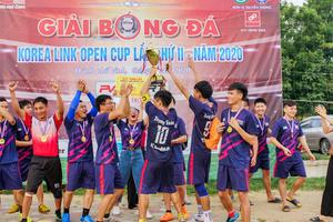 Khép lại Giải bóng đá Korea Link Open Cup lần thứ II – Năm 2020
