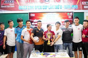 Họp báo Công bố Giải bóng đá Korea Link Cup lần thứ II - Năm 2020