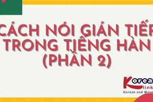 Ngữ pháp 19: Cách nói gián tiếp trong tiếng Hàn - phần 2