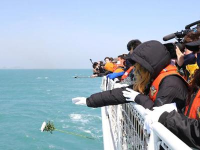 Hàn Quốc tưởng niệm 7 năm vụ chìm phà Sewol