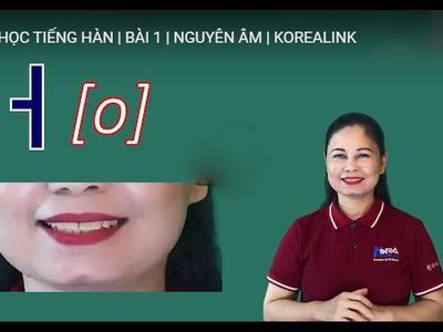 Học tiếng Hàn dành cho người mới bắt đầu cùng Korea...