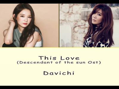 Cùng học tiếng Hàn qua bài hát This love - Davichi