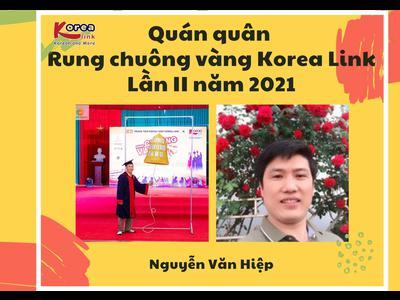 Nguyễn Văn Hiệp - Quán quân Rung chuông vàng Korea Link...