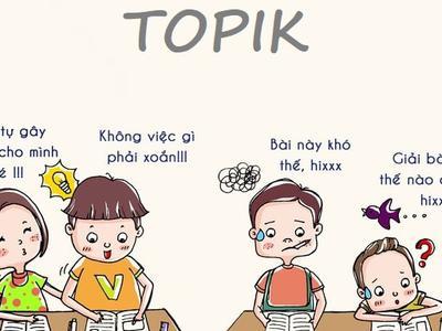 Chia sẻ kinh nghiệm luyện thi TOPIK tiếng Hàn hiệu quả