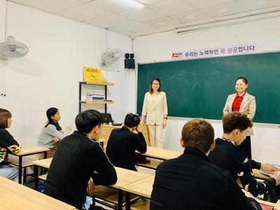 Khai giảng khoá học tiếng Hàn cho người mới bắt...
