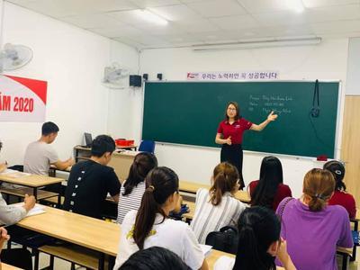 Lớp tiếng Hàn dành cho người mới bắt đầu tại Korea...