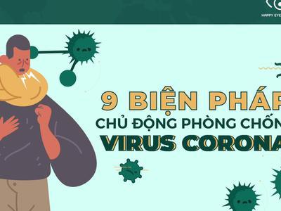 9 biện pháp phòng ngừa dịch bệnh Corona