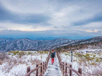 Du lịch vào mùa Đông ở Hàn Quốc