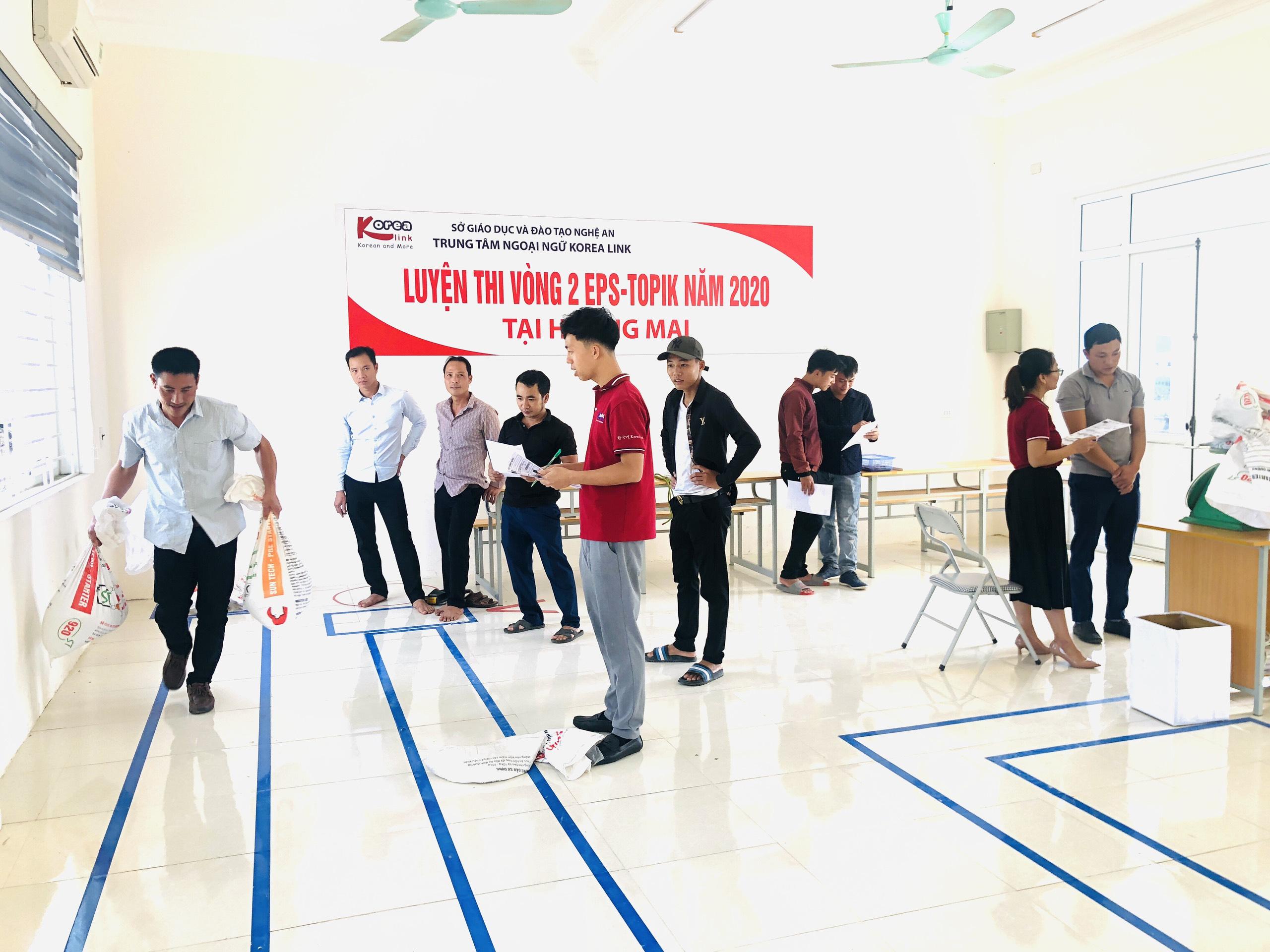 Korea Link tổ chức thi thử EPS ngành Ngư Nghiệp vòng 2 năm 2020